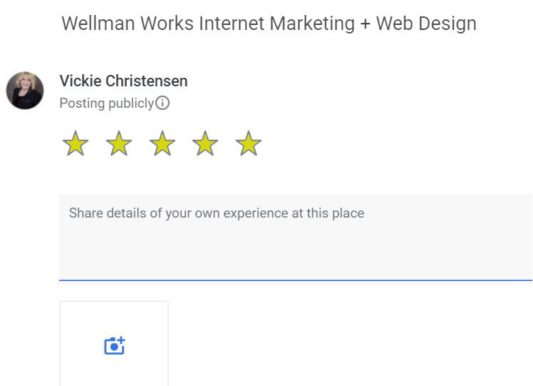 Google Internet Visibility Specialists Wellman Works